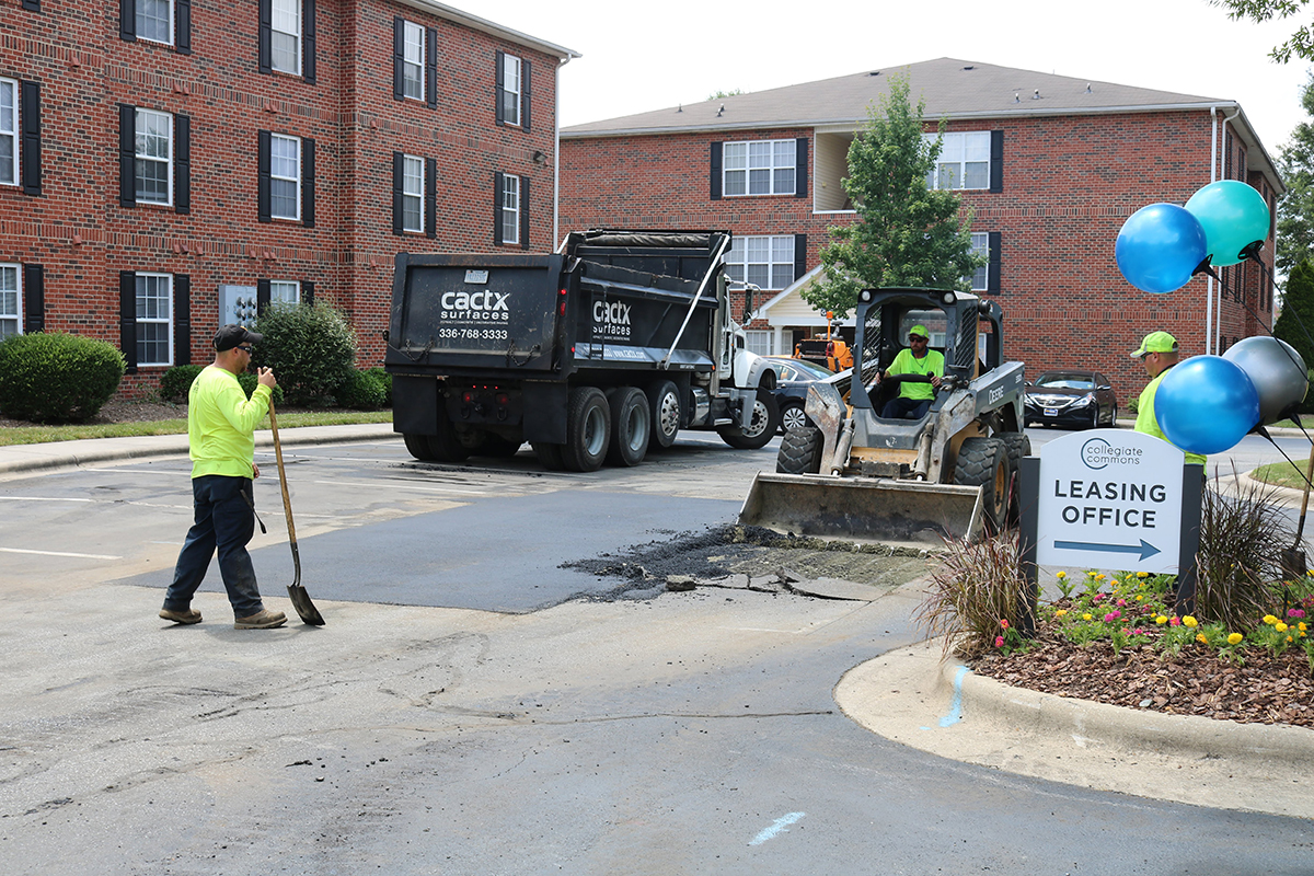 asphalt excavation repair